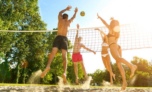 beach volley sagone