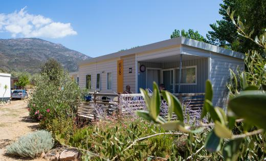 location mobil home corse