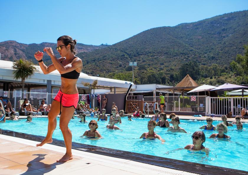 Gym piscine corse