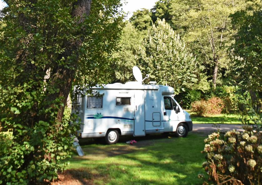 Emplacement camping car corse