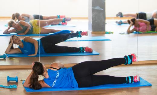 Salle sport fitness