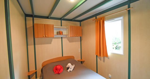 Chambre parental chalet Coriandre