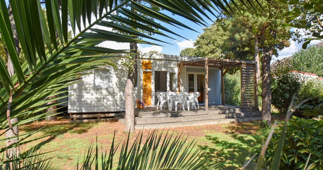 Location mobil home Declick6 avec terrasse