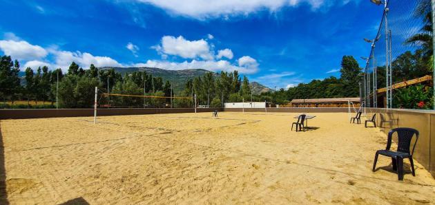 Terrain de sable
